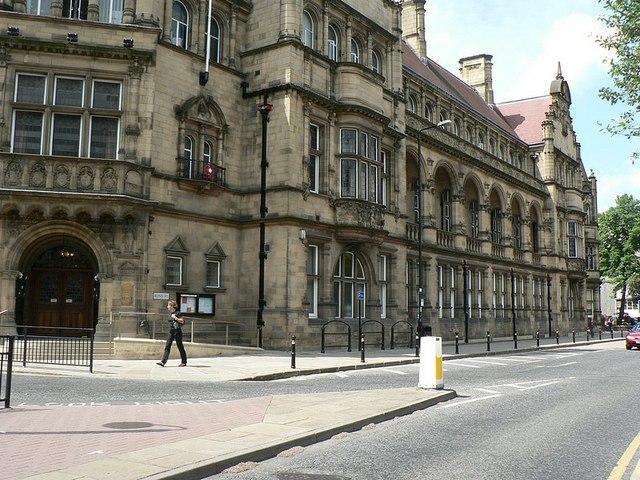 County Hall, Wood Street, Wakefield