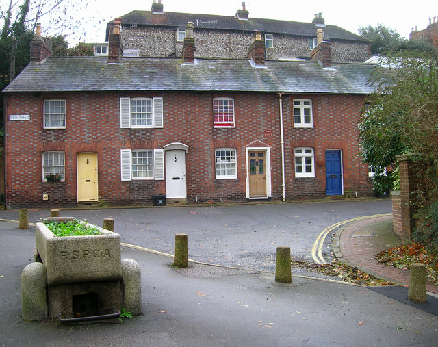 Park Cottages, New Road