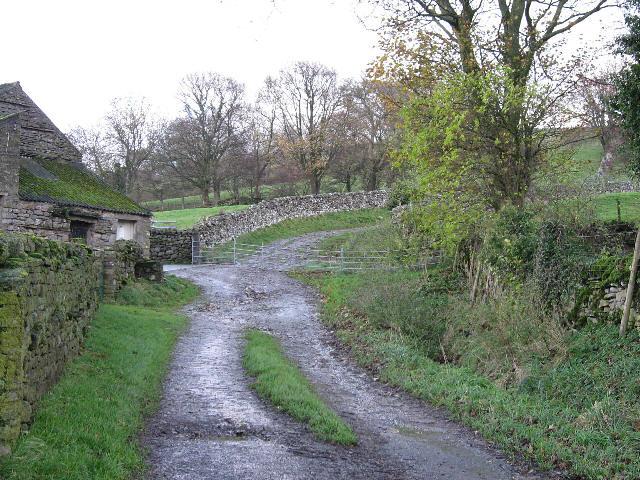 A Footpath To West Burton
