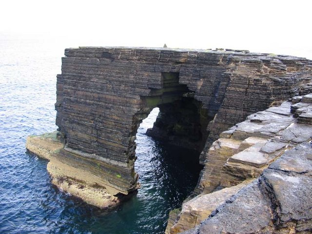 The Taing at Bow Head ,Westray, Orkney