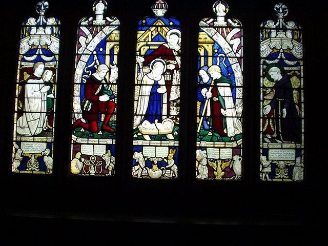 Window commemorating Lewis Carroll, All Saints, Daresbury