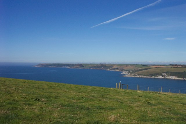 The Mouth of the Erme Estuary.