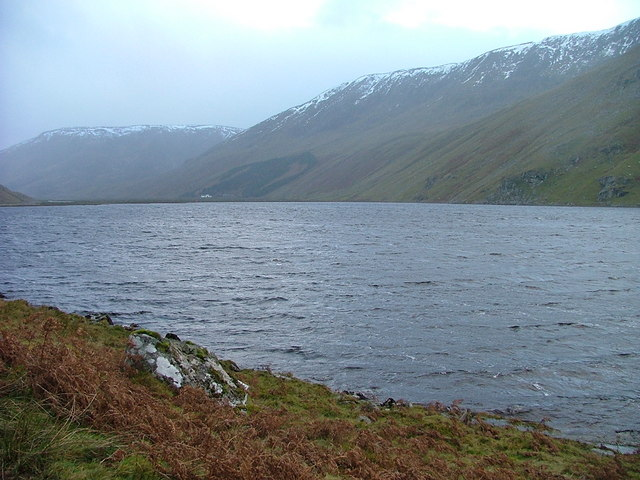 Shoreline of Loch Killin