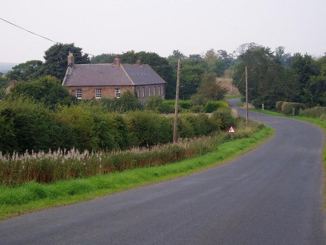 Bridge Mill Farm House. Nr Haggerston.