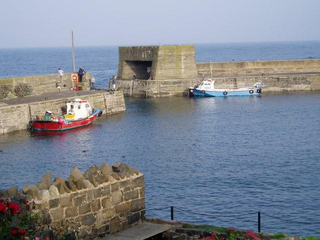 Craster Harbour.