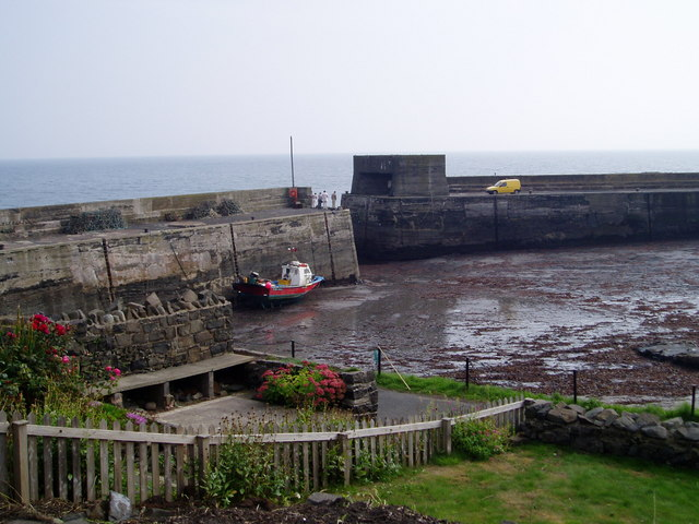 Craster Harbour.