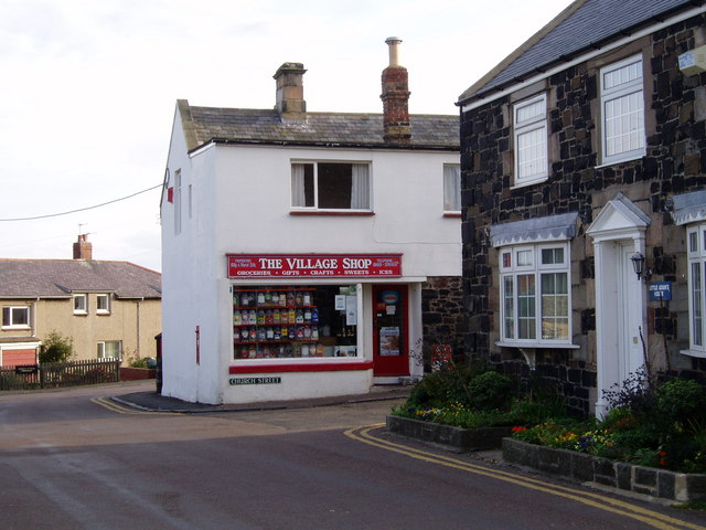 The Village Shop. Craster.