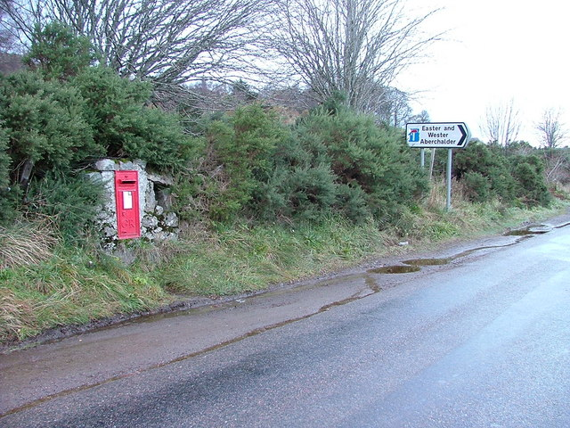 Post Box and Sign