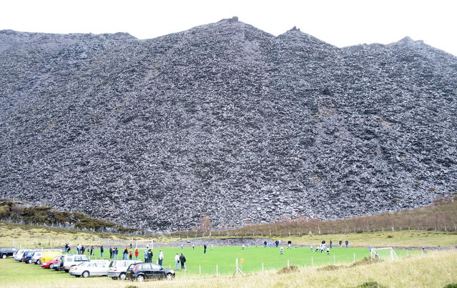 The Highest Football Match in the British Isles?