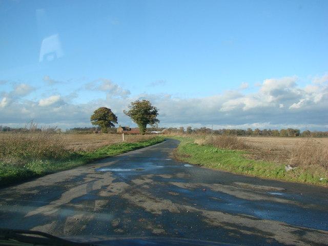 Rosehill Farm, Sandwith Lane, from the junction of Hardenshaw Lane