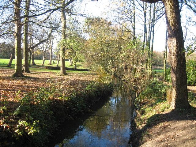 River Alt near Croxteth Hall