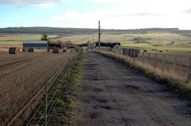 Meikle Findon farm