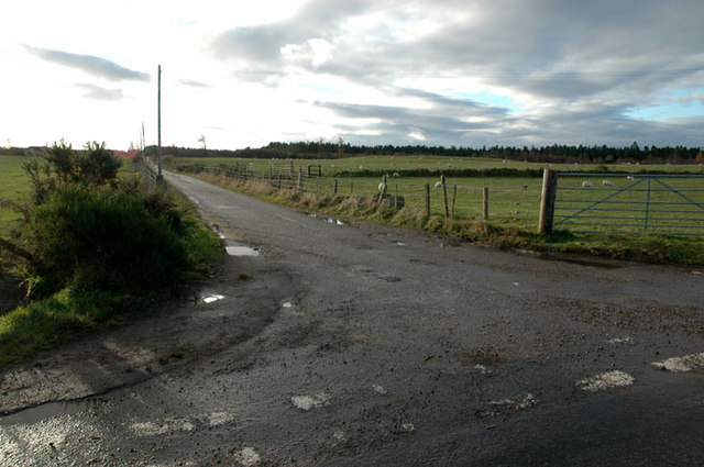 Junction off Munlochy to Culbokie road