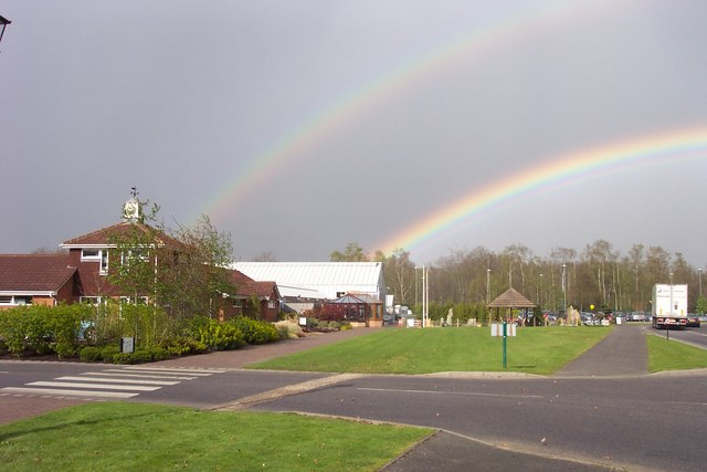 Longacres Nurseries at the end of the rainbow.