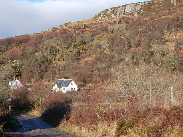 Houses near Leckuary