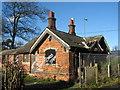 SJ4094 : Vandalised Lodge at Croxteth Park by Sue Adair