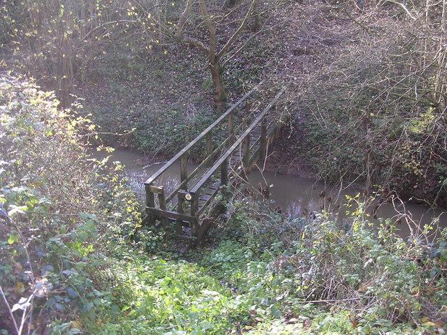 Footbridge over Dick Brook