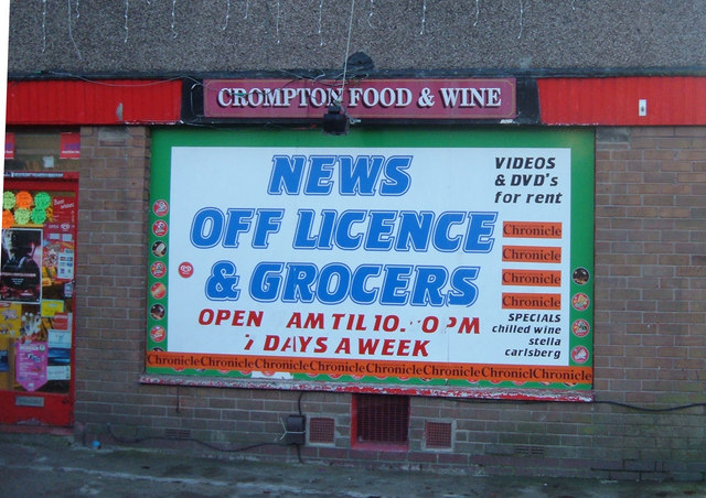Corner Shop, High Crompton
