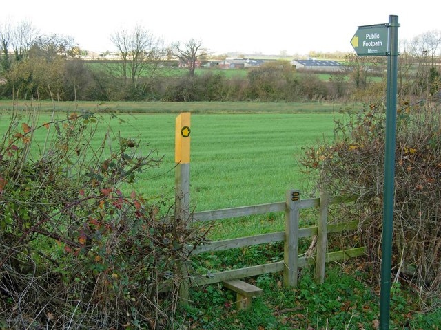 Footpath to Sharnford