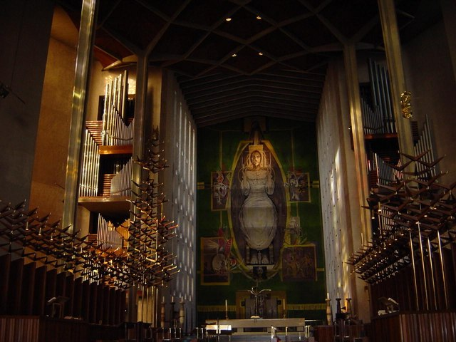 Interior of Coventry Cathedral