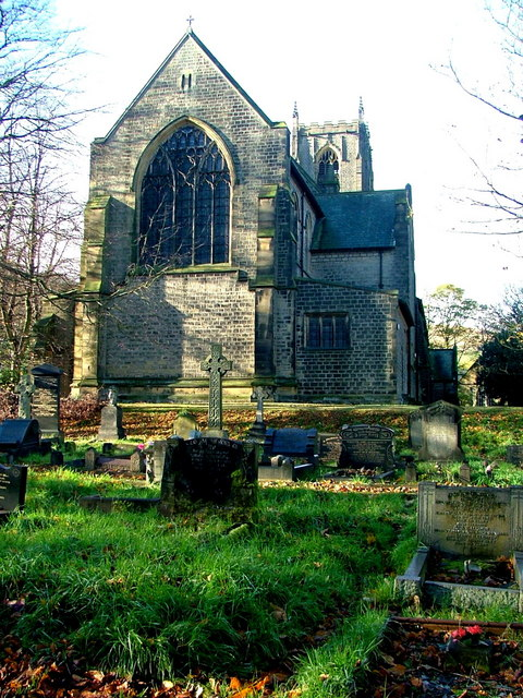 St Bartholomew's Church , Marsden