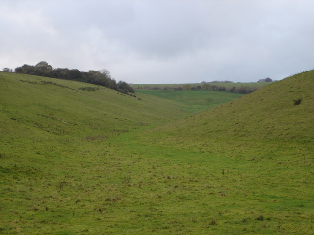 Valley next to Middleton Hill