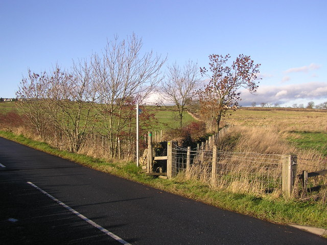 Footpath to Green Field Farm
