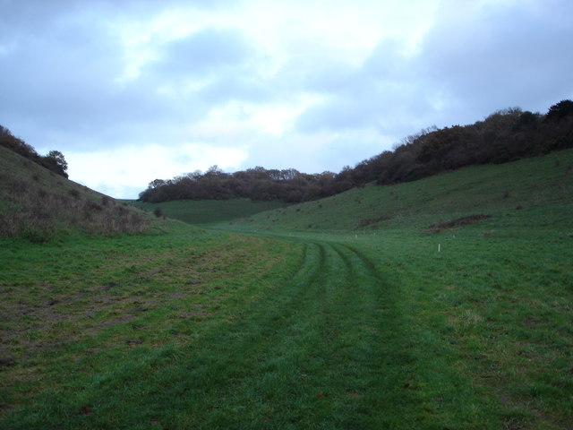 Shooting range on Knighton Hill Farm