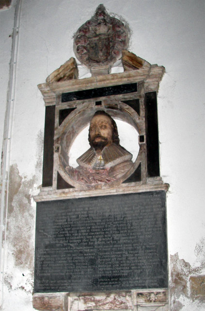 Thornton Curtis - Church of St. Lawrence - Monument