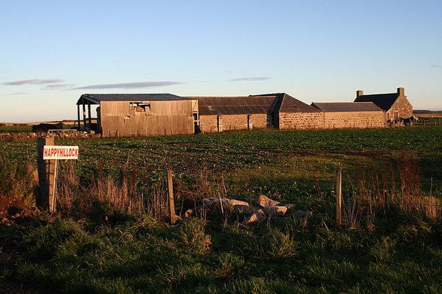 Happyhillock Farm.
