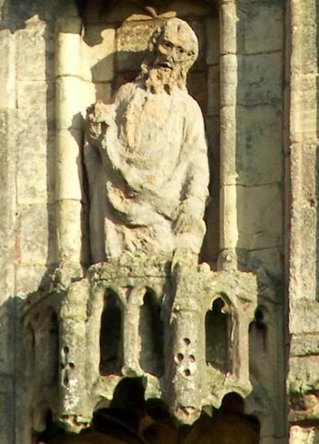 Thornton Abbey - Gatehouse Statue