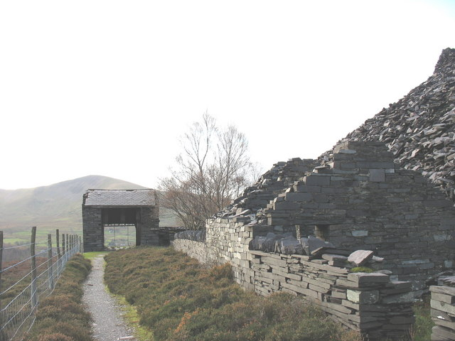 A3 Drum-house from the marshalling area behind it