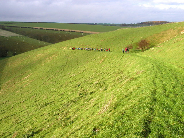 West Dale Wolds Way Walkers