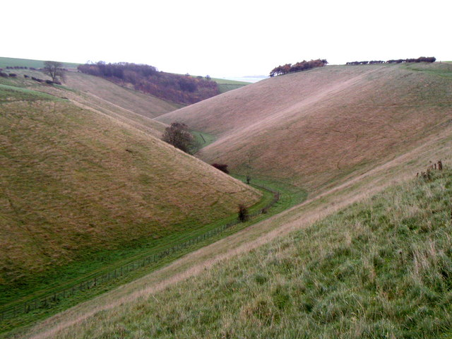 Looking down Horse Dale