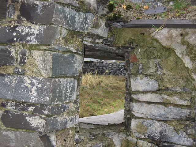 View of the marshalling yard bend through the squint window at A2 drum house