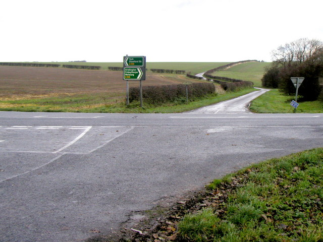 Crossroads on the A166