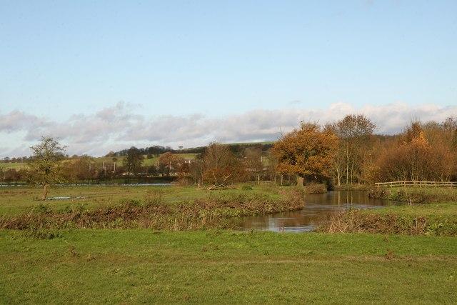 River Trent at Burston