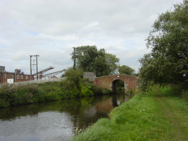 Bridge Over  the Trent Mersey Canal