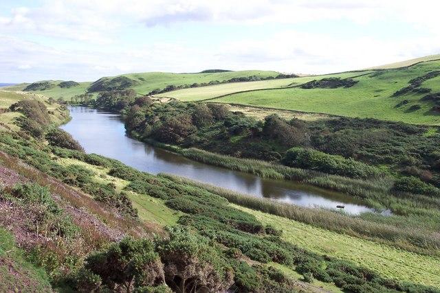 Mire Loch, St Abbs Head.
