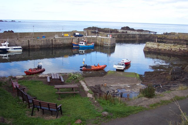 Harbour at St Abbs.
