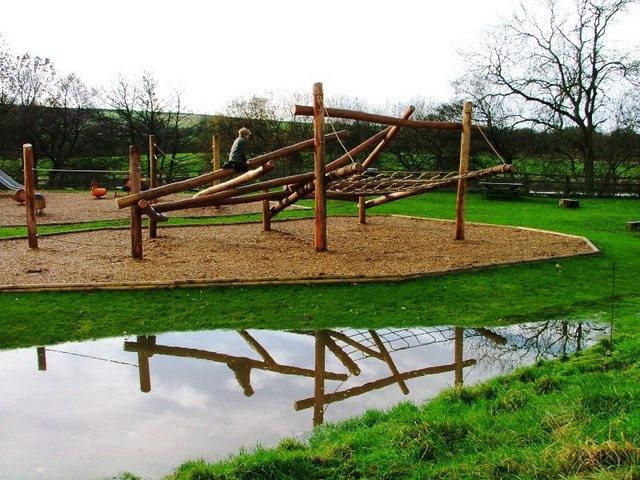 New Play Area at the Moors Centre