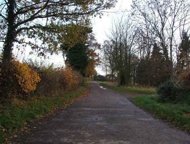 Track to Boundary Farm