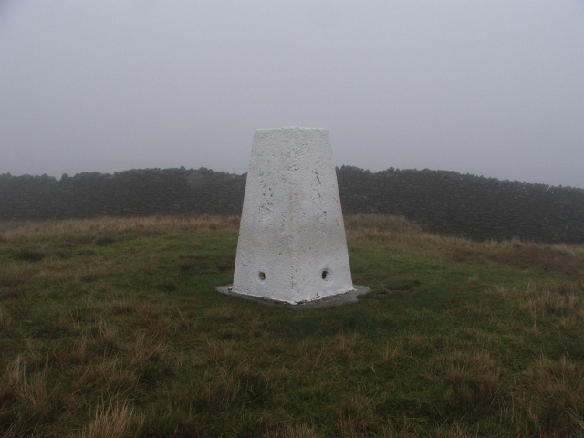 Trig Point on Horse Head.
