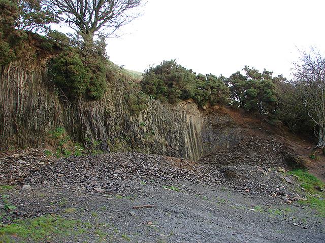 Old Quarry at Cae-cwtta