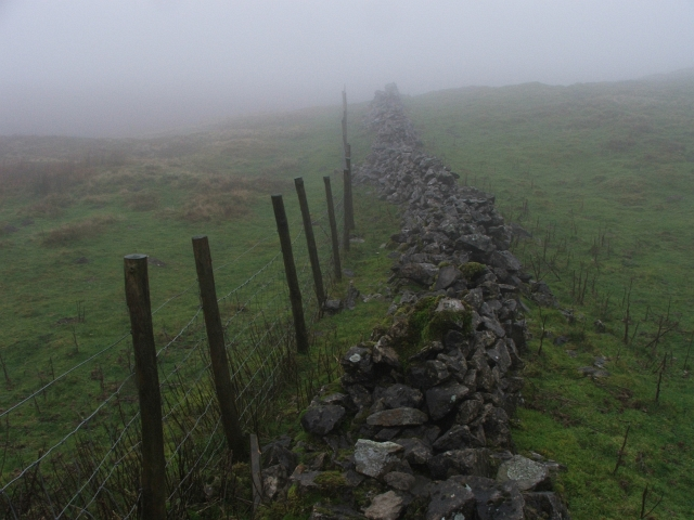 Wall and Fence on Little Fell.