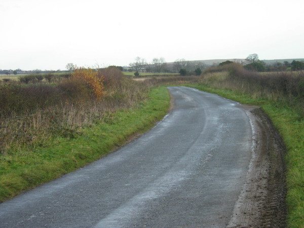 Road to Fenrother from A697