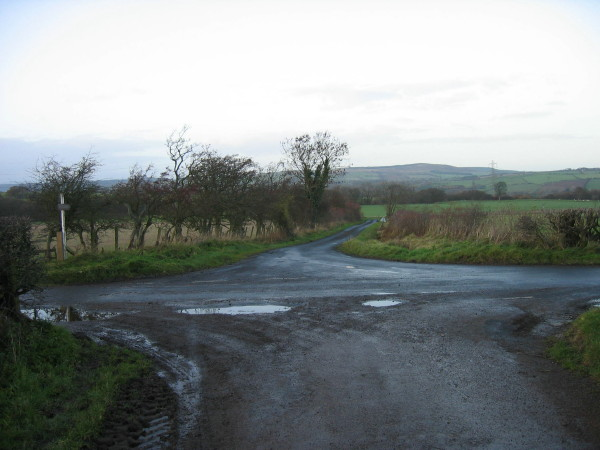 Road leading to Thistleyhaugh