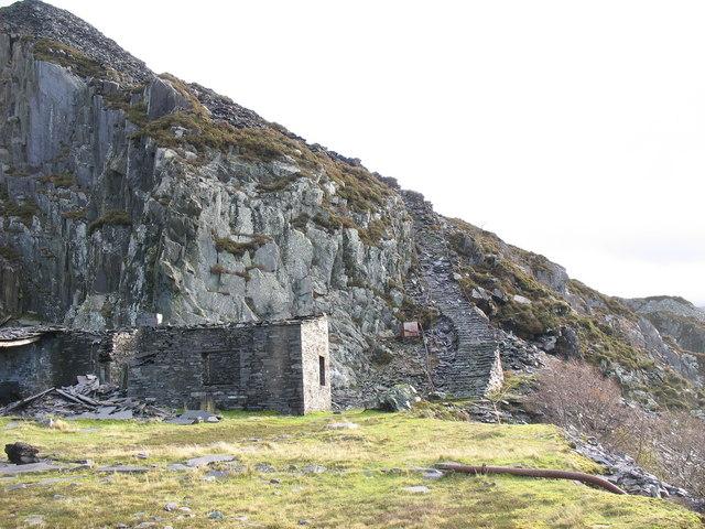 The Foot of the Llwybr Llwynog Steps