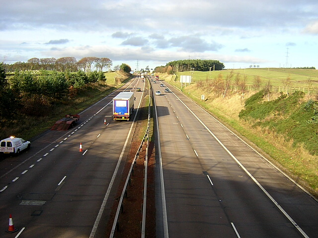 M74 Near Junction 11