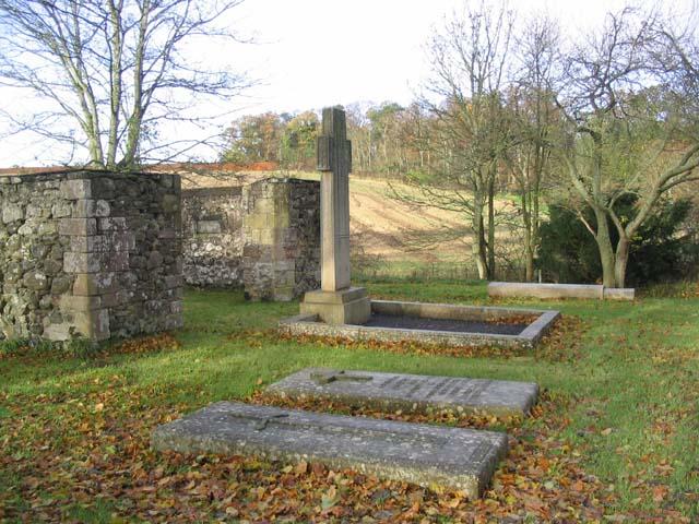 A cemetery near Home Farm